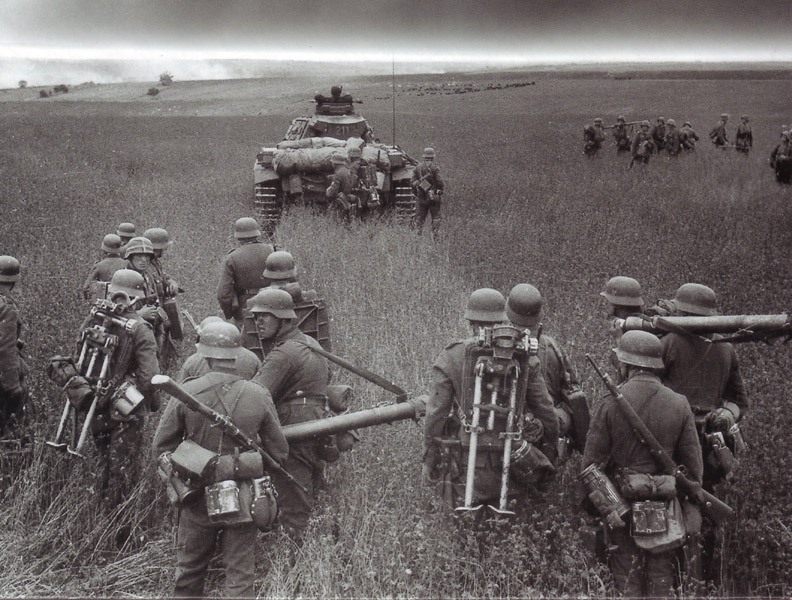 Image result for ww2 germans with mortar